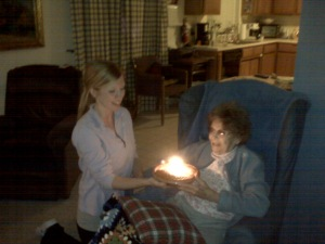 Hospice controlled my mother's pain enough that she could enjoy apple pie for her birthday...9 days before she passed.